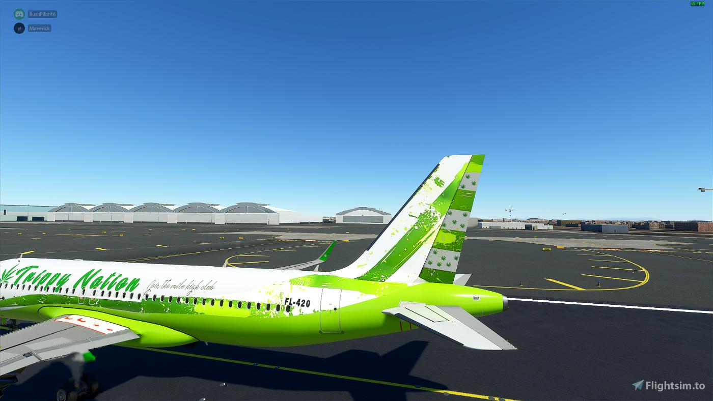A320- Trippy Nation Livery