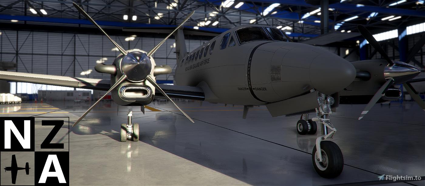 Royal New Zealand Air Force King Air 350