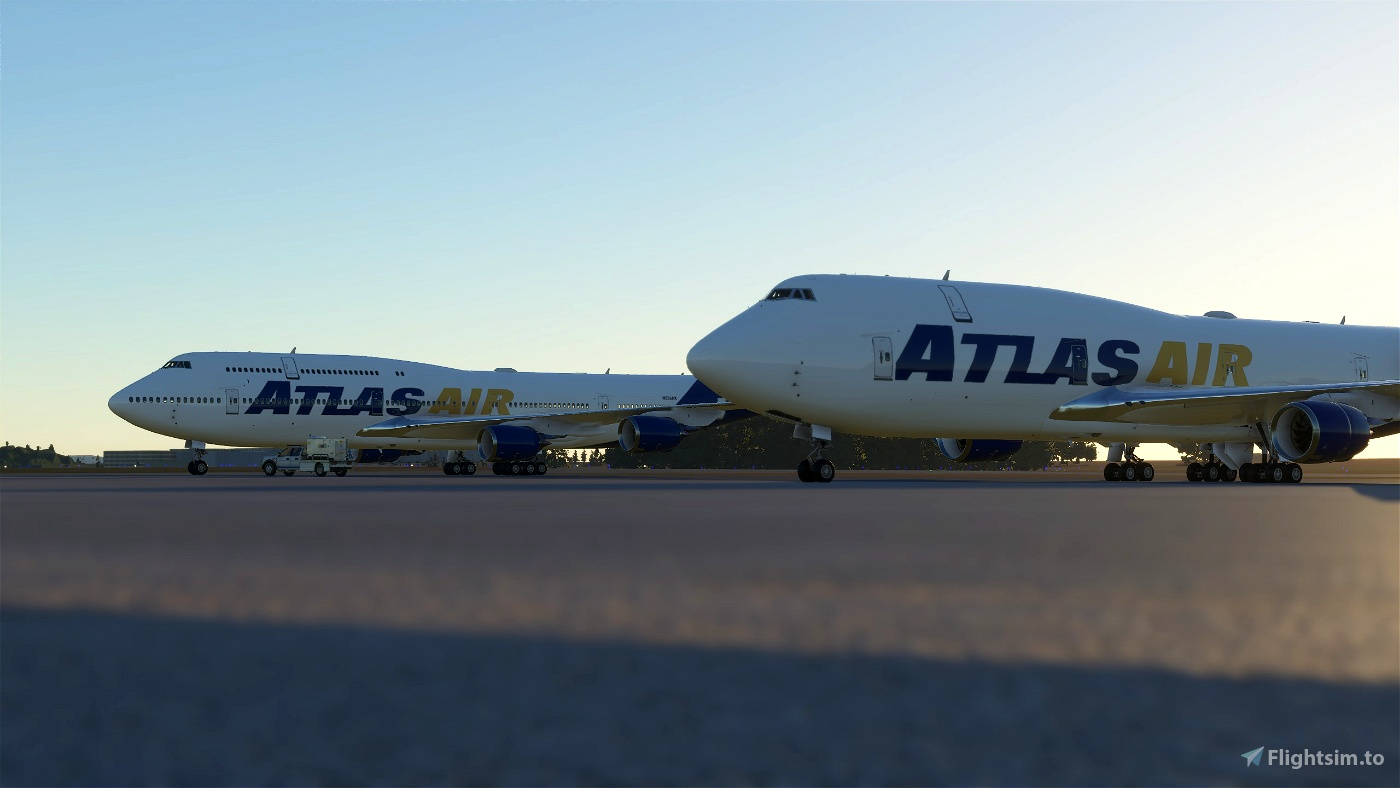 Atlas Air 747 Pack Flight Simulator 2020