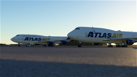 Atlas Air 747 Pack Image Flight Simulator 2020