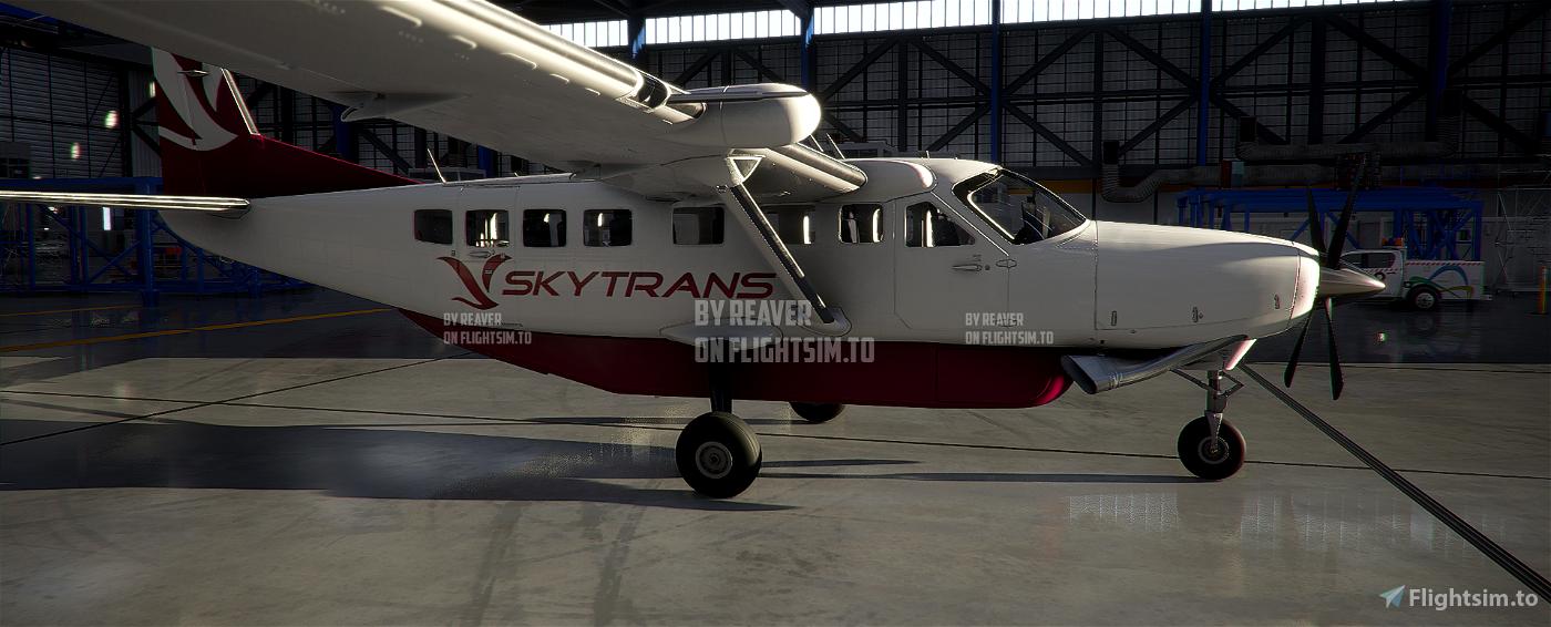 Australia Skytrans Caravan 208 Flight Simulator 2020