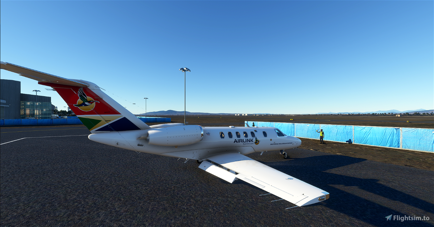 South Africa Airlink CJ4
