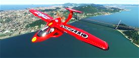 AKIRA ICON A5 + cockpit red & black Image Flight Simulator 2020