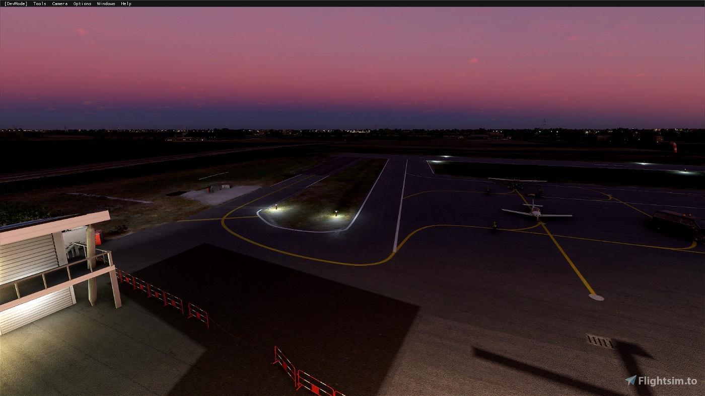 LIDU Carpi Budrione Airport - Italy