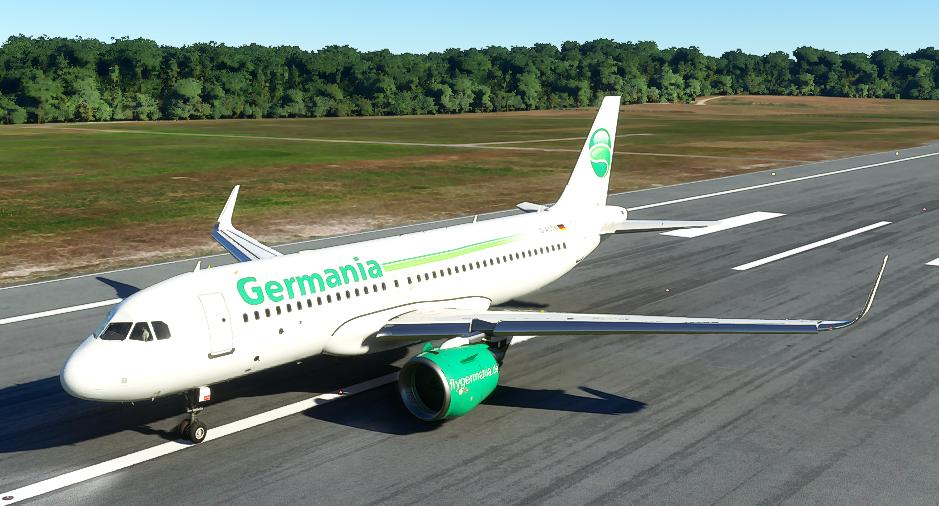 A320neo Germania Livery Flight Simulator 2020