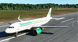 A320neo Germania Livery Image Flight Simulator 2020