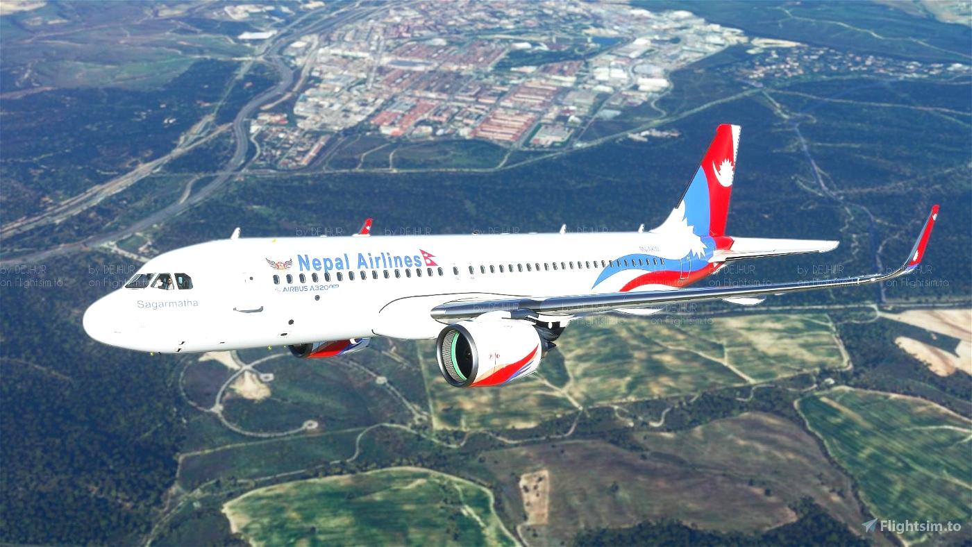 Nepal Airlines(4K)[9N-AKW] Flight Simulator 2020
