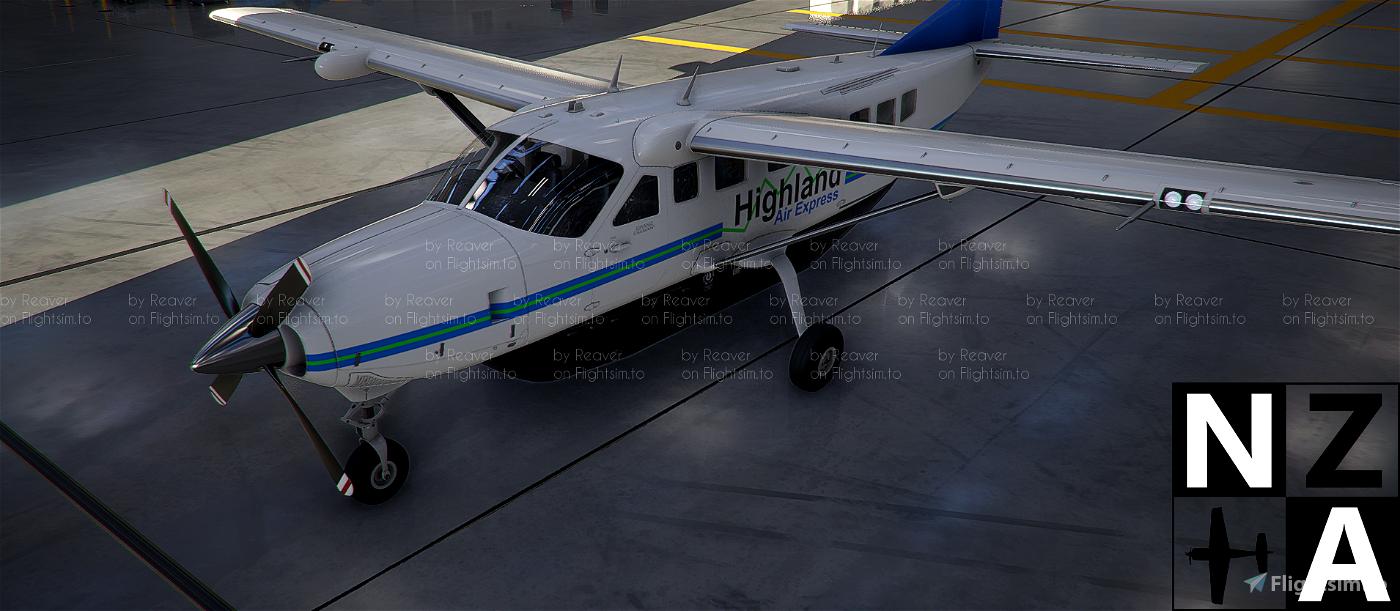 Highland Air Express VA Caravan 208 Microsoft Flight Simulator