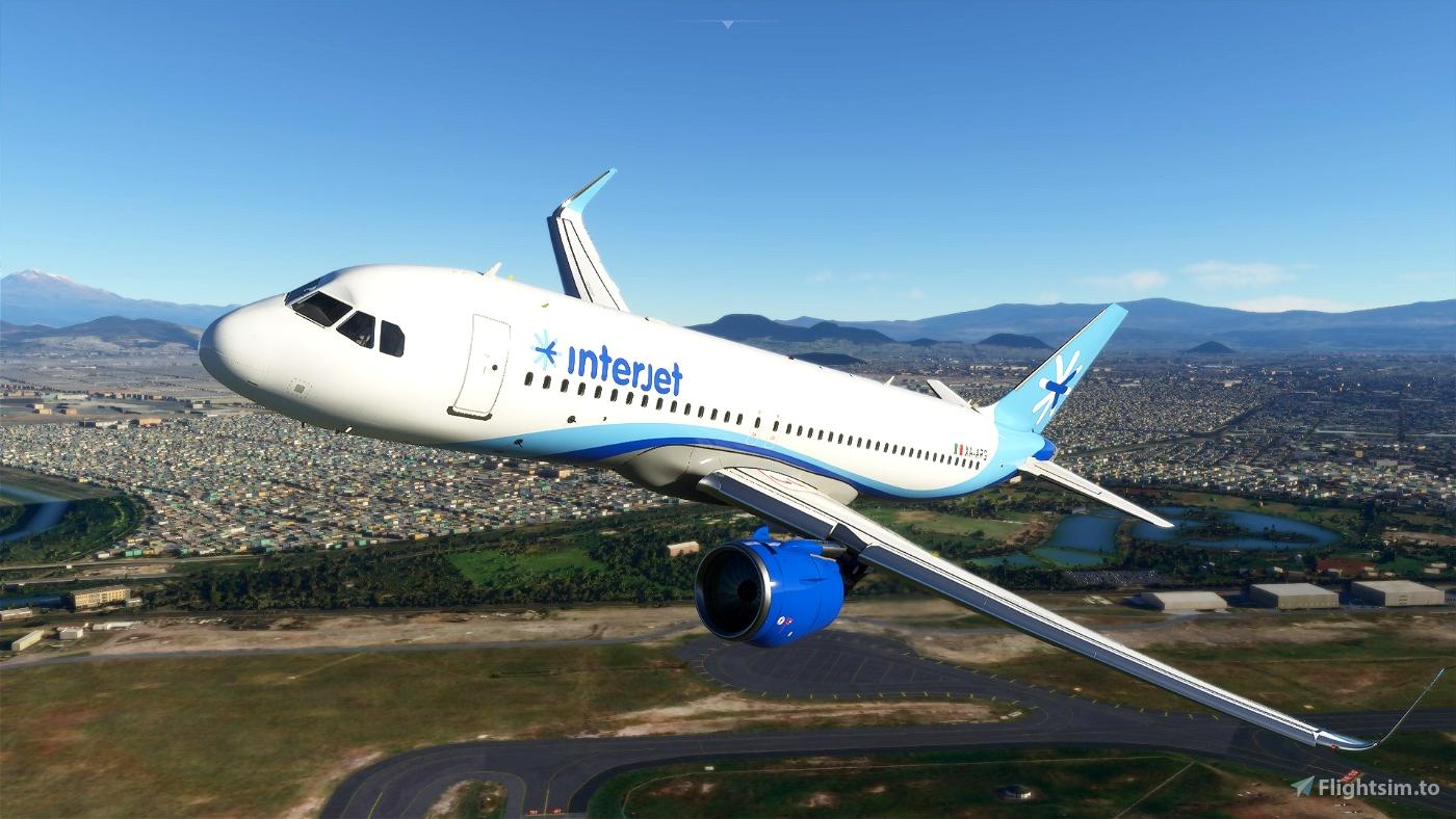 Interjet Airlines(4K)[XA-ARG] Flight Simulator 2020