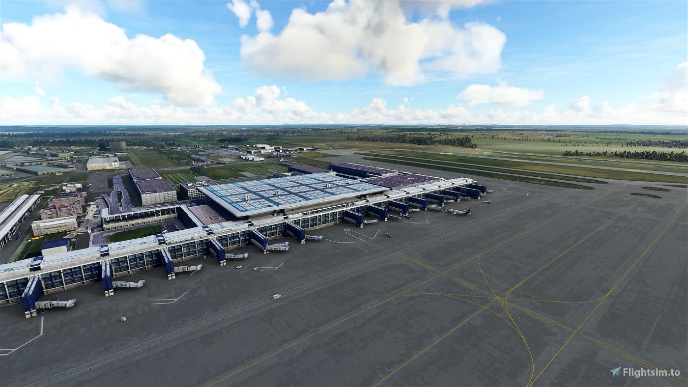 Berlin Brandenburg Intl - [EDDB] Microsoft Flight Simulator