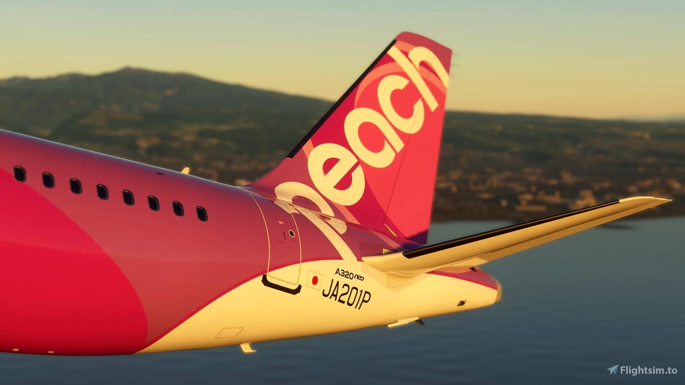 Peach Aviation A320 Neo JA201P 8k