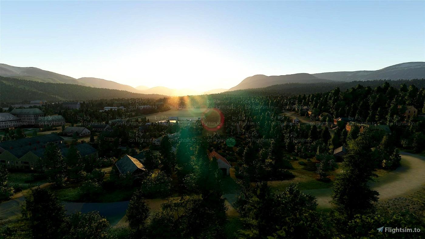 ENSQ Setermoen Airfield Image Flight Simulator 2020