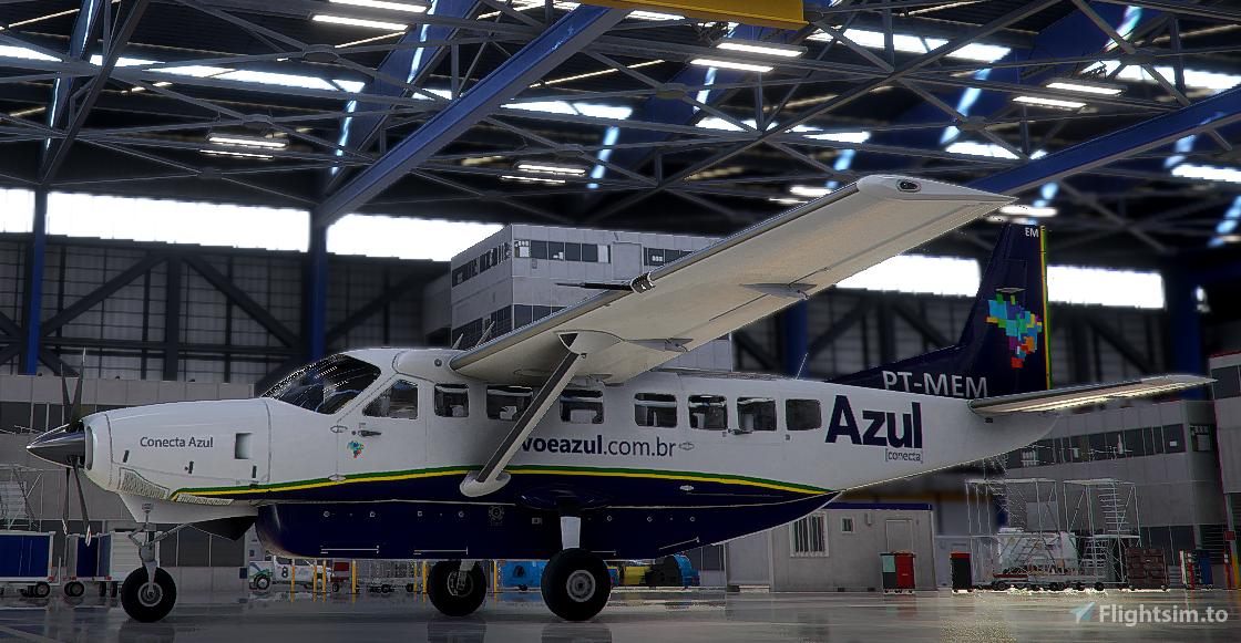 AZUL CONECTA C208B 2K Flight Simulator 2020