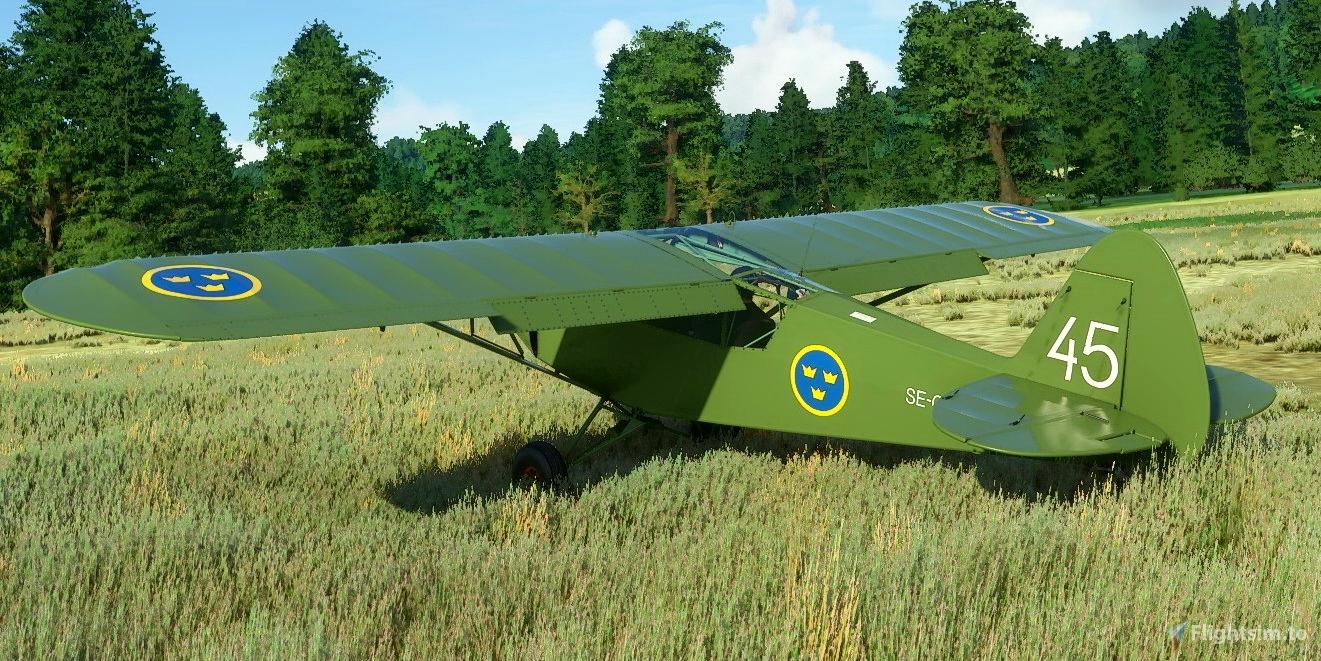 Savage Cub SE-GCK Flight Simulator 2020