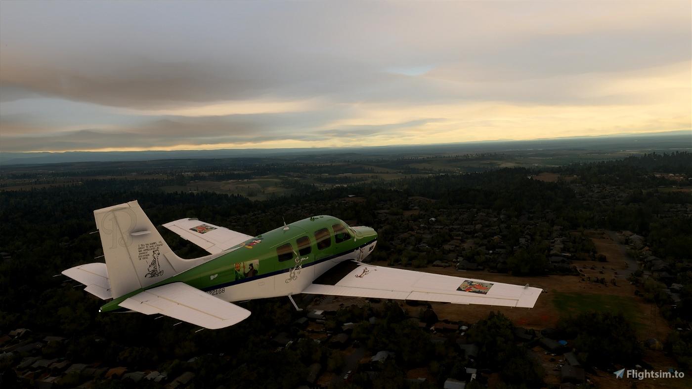 Bonanza G36 N22168 GW-Cartoons Flight Simulator 2020