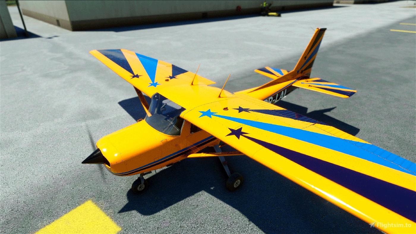 PR-LAL (Aeroclube de Jundiaí) Flight Simulator 2020