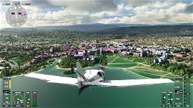 Annecy French Alps - France Microsoft Flight Simulator