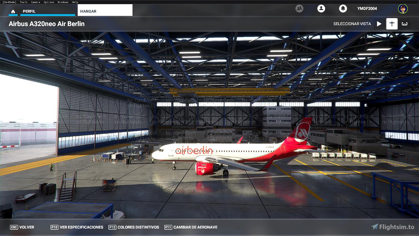 A320 Air Berlin (Accurate)
