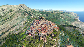 Castelmola (Taormina)  Microsoft Flight Simulator