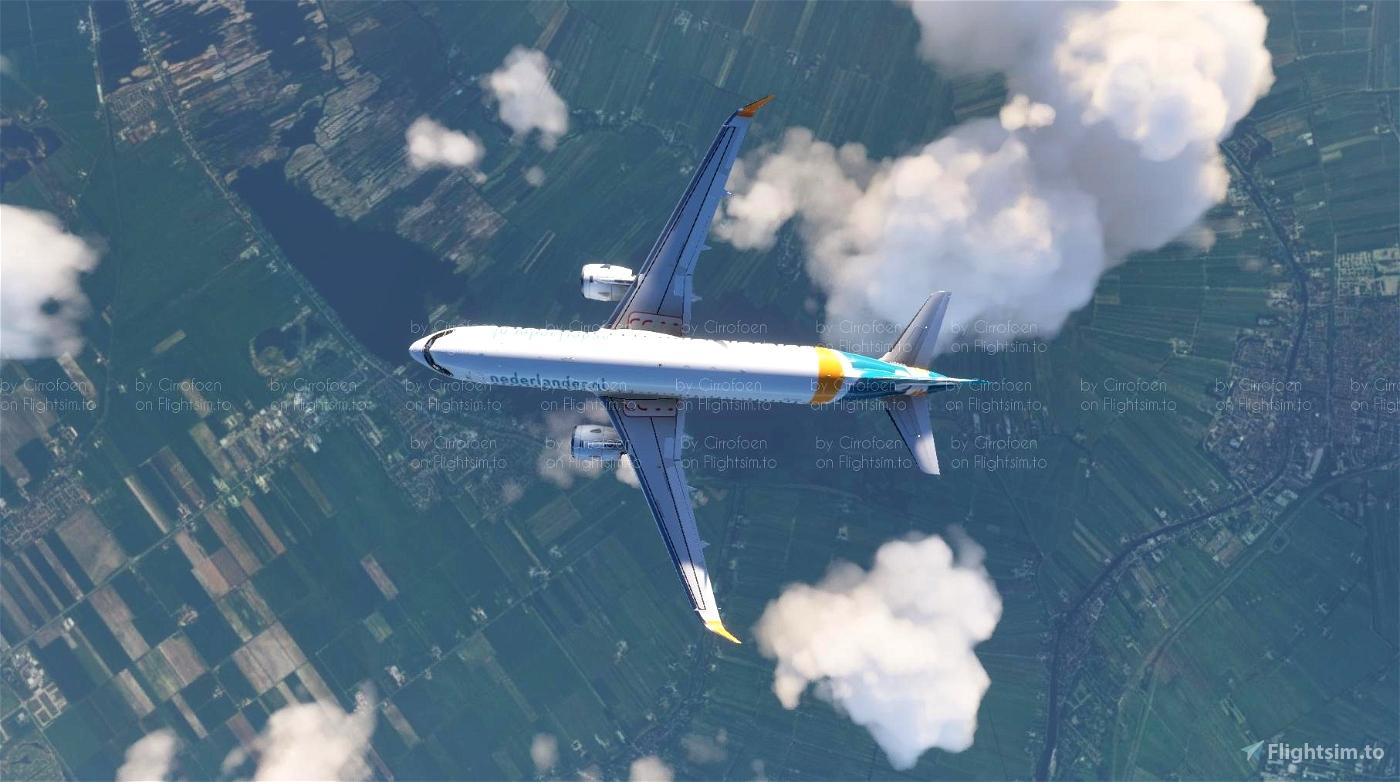 Nederlander A320neo Livery (4k)