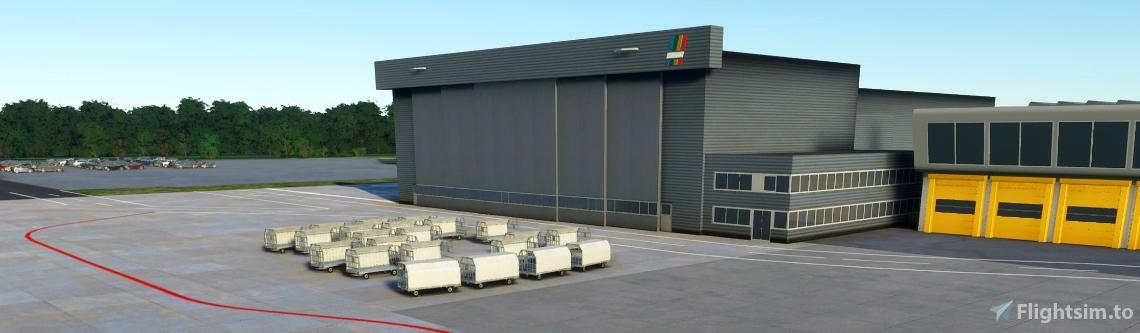 Eindhoven Airport / EHEH - incl Custom Buildings
