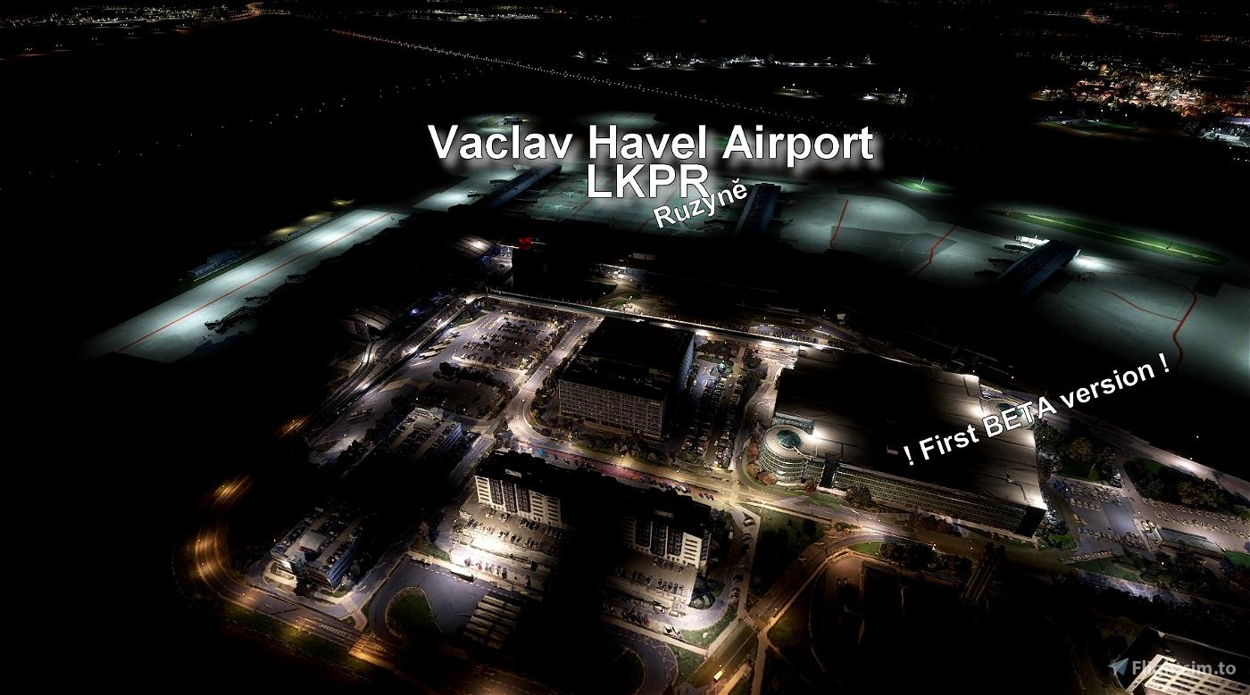 Vaclav Havel Airport - Ruzyne (LKPR) Image Flight Simulator 2020