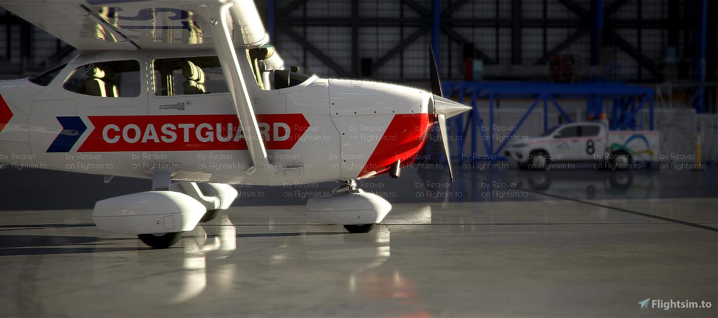 New Zealand Coastguard C172 Skyhawk (Standard)
