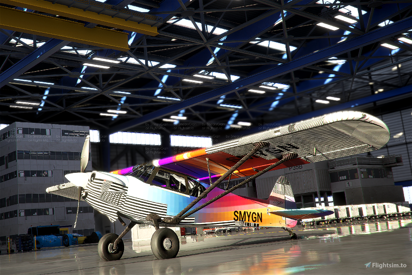 Cub Crafter XCub INTR3P1D Flight Simulator 2020