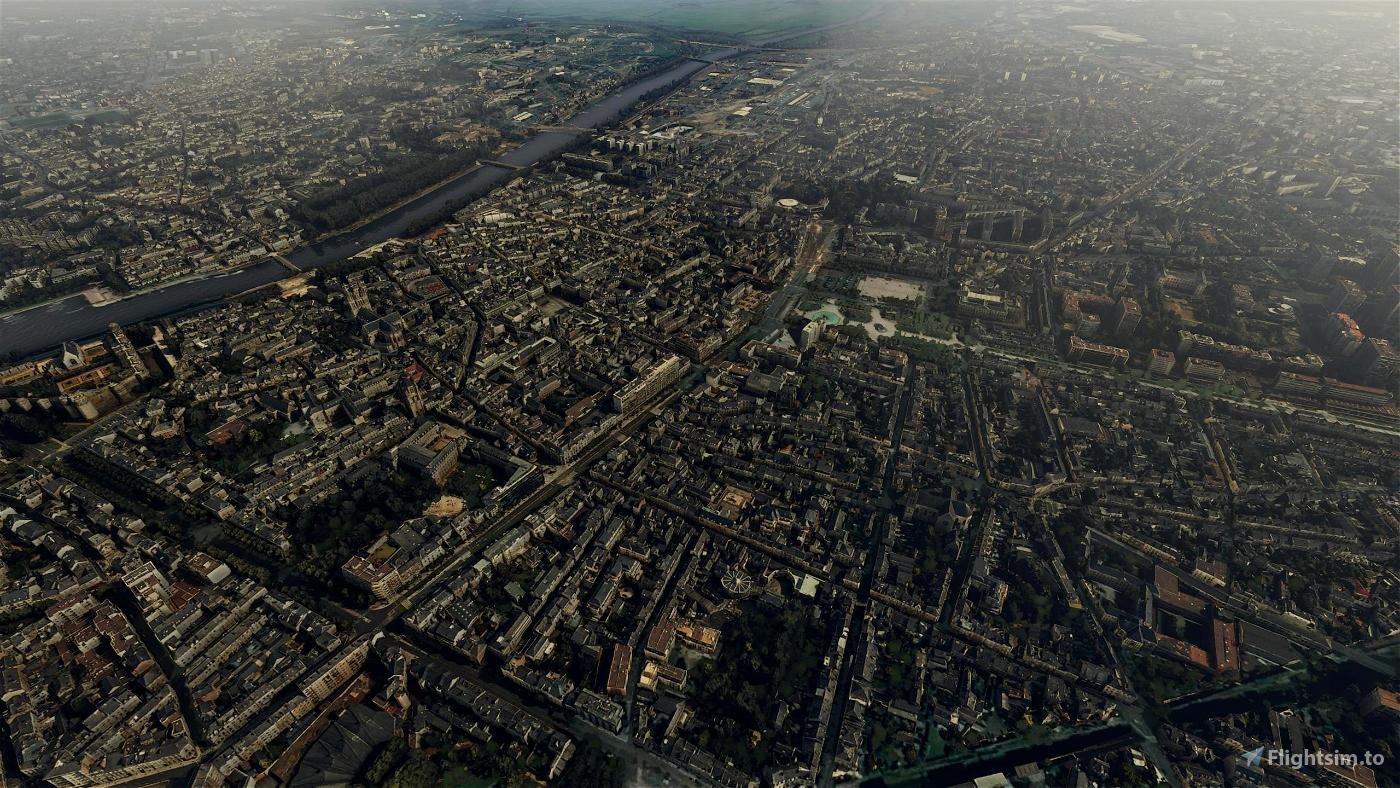 Angers City Microsoft Flight Simulator