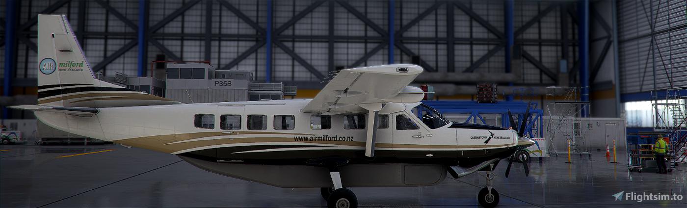 New Zealand Air Milford Caravan 208 Flight Simulator 2020