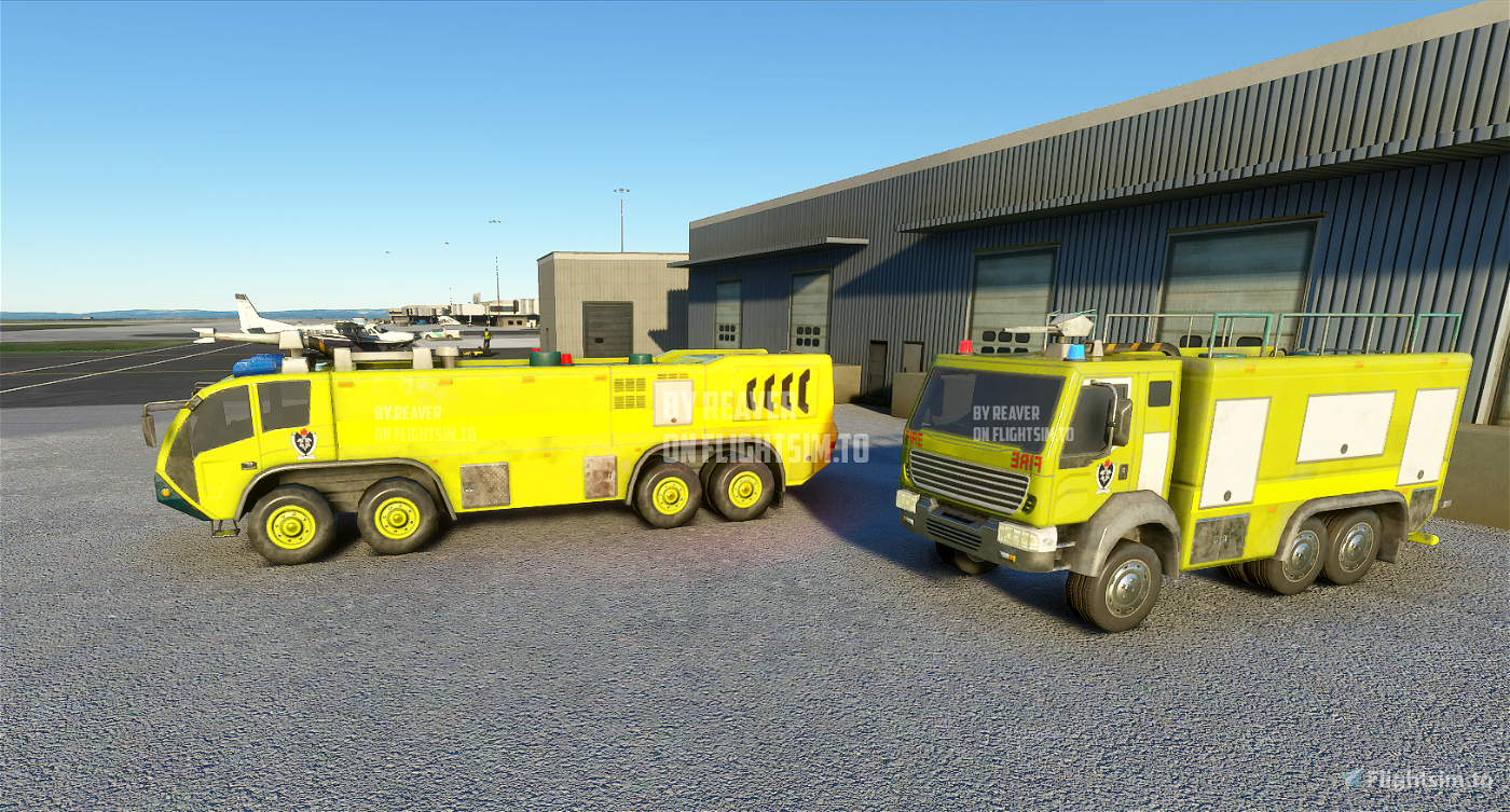 Australia New Zealand Fire Trucks