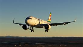 Air Zimbabwe A320 Neo Image Flight Simulator 2020