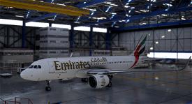 [High Res]Emirates A320 Neo Image Flight Simulator 2020
