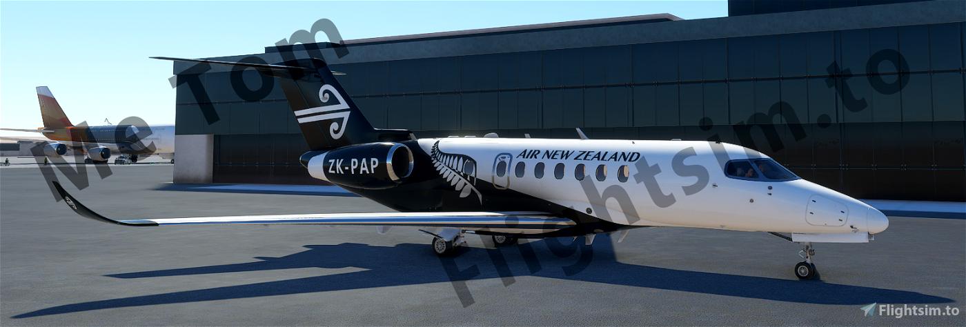 Cessna Longitude - Air New Zealand Flight Simulator 2020