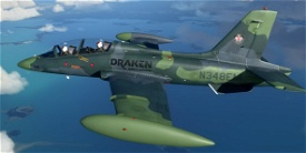 Aermacchi MB-339 Draken International N348EM Image Flight Simulator 2020