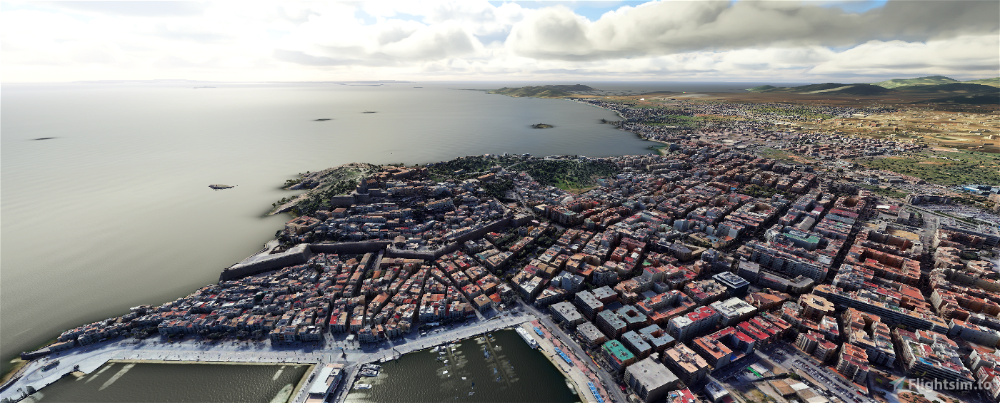 Ibiza Island (Balearics) - Spain Flight Simulator 2020