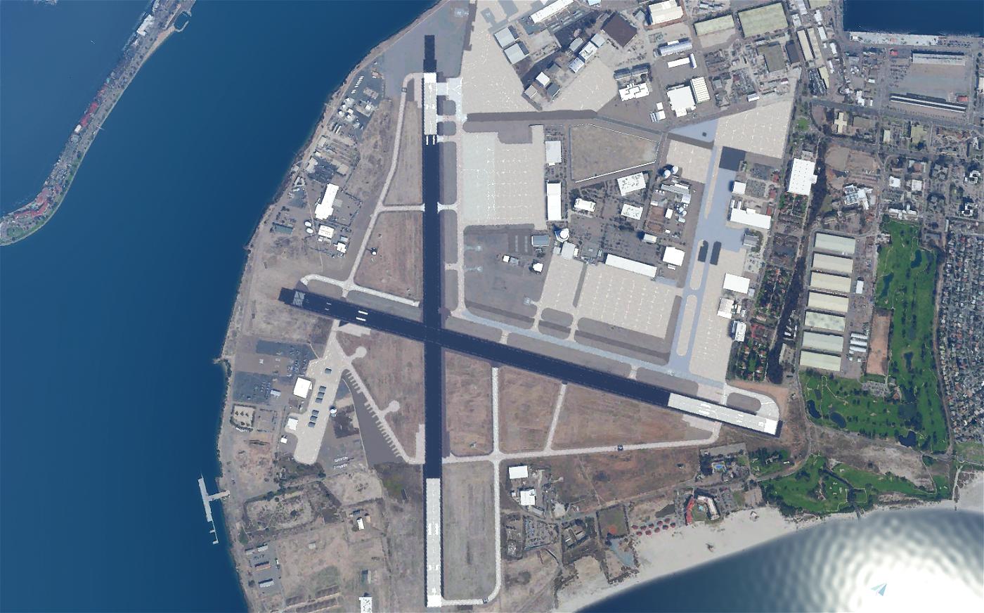 KNZY - North Island Naval Air Station (Halsey Field)