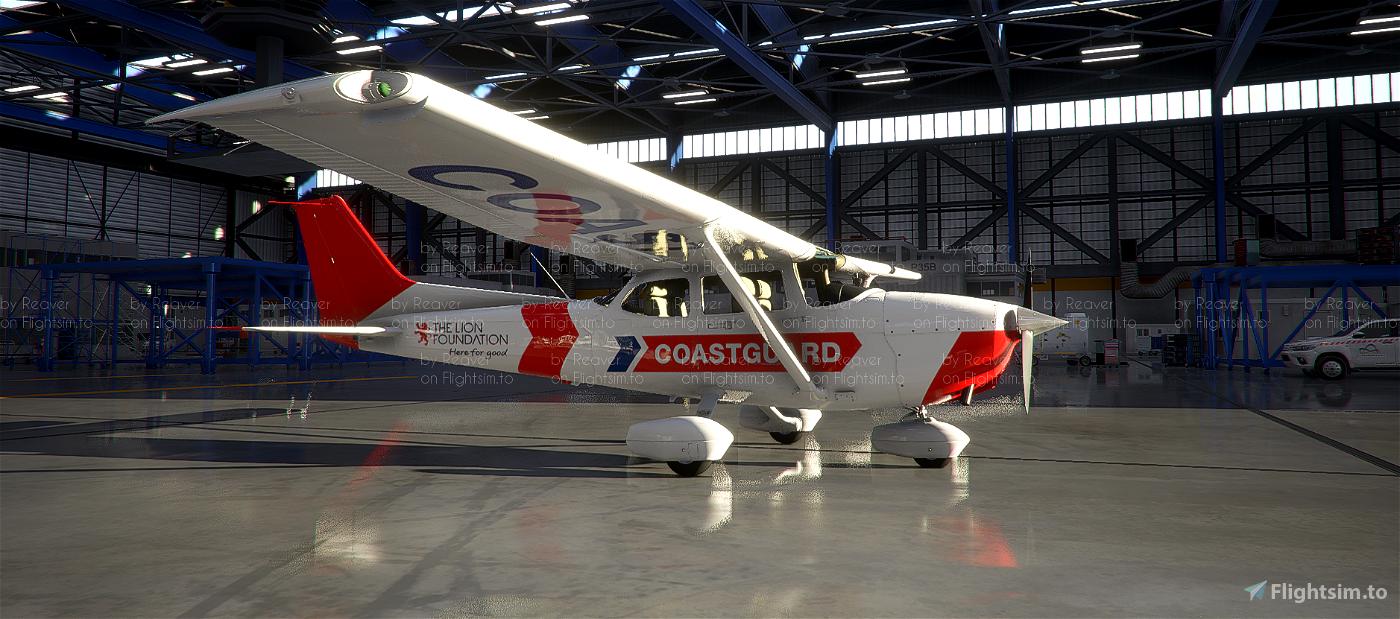 New Zealand Coastguard C172 Skyhawk (G1000)