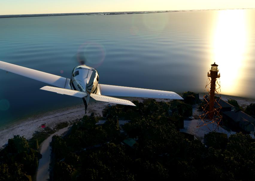 Sanibel Lighthouse, Sanibel Island, Florida Flight Simulator 2020