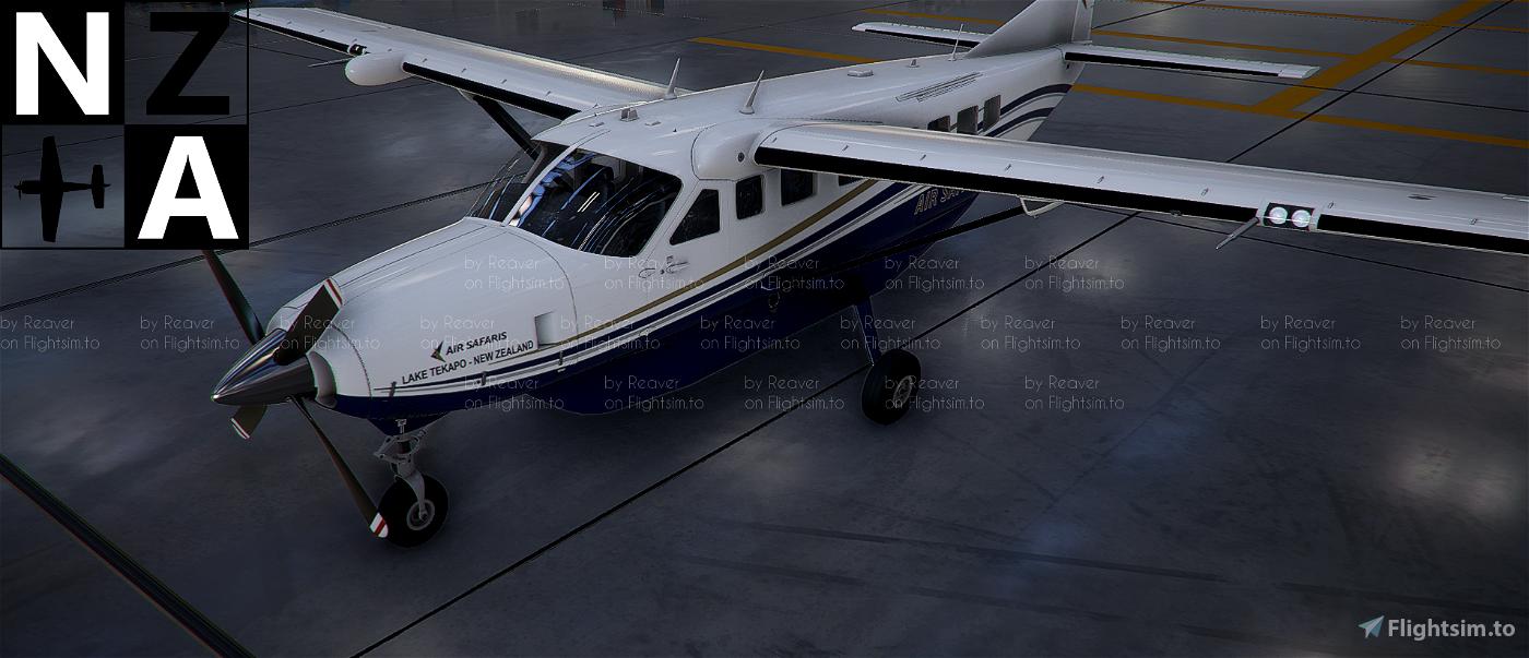 New Zealand Air Safaris Caravan 208 Flight Simulator 2020