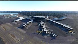 KLGA LaGuardia Airport + NYC Bridge Improvement v1.8 Image Flight Simulator 2020