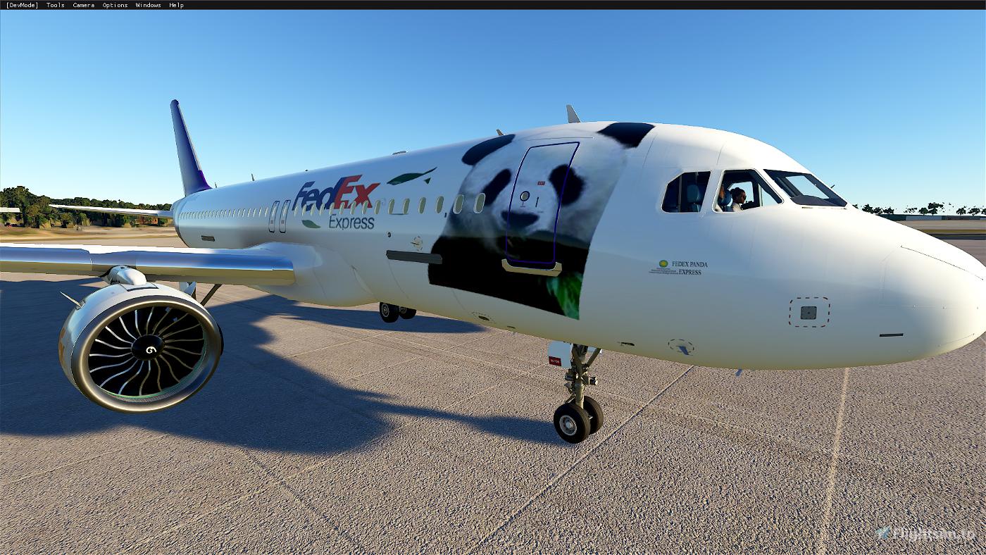 FEDEX A320 Livery