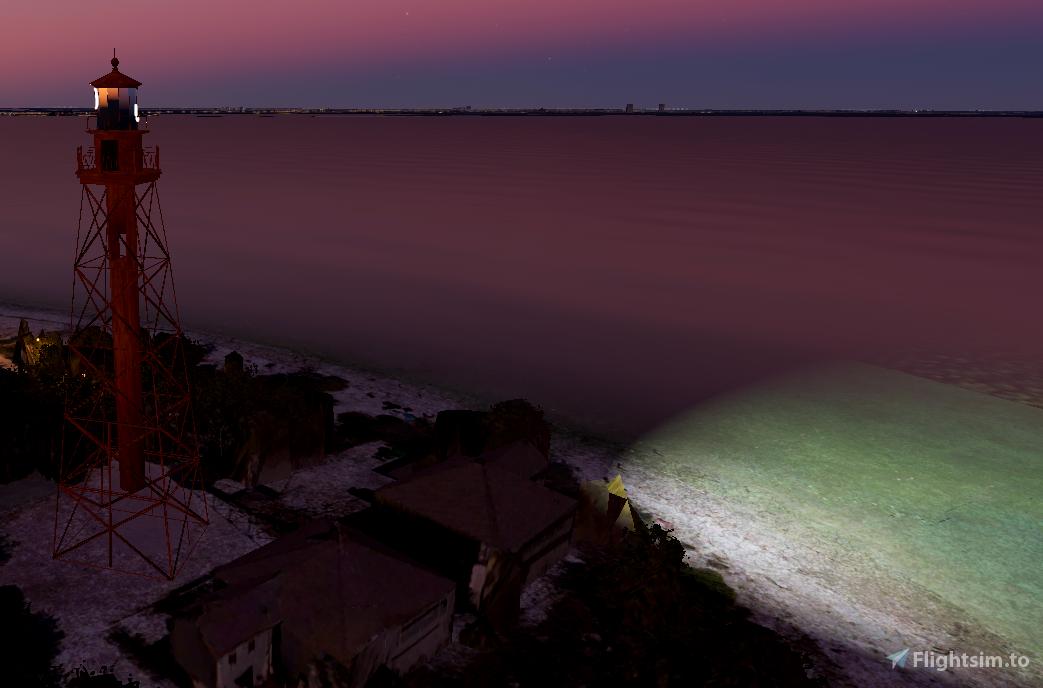 Sanibel Lighthouse, Sanibel Island, Florida