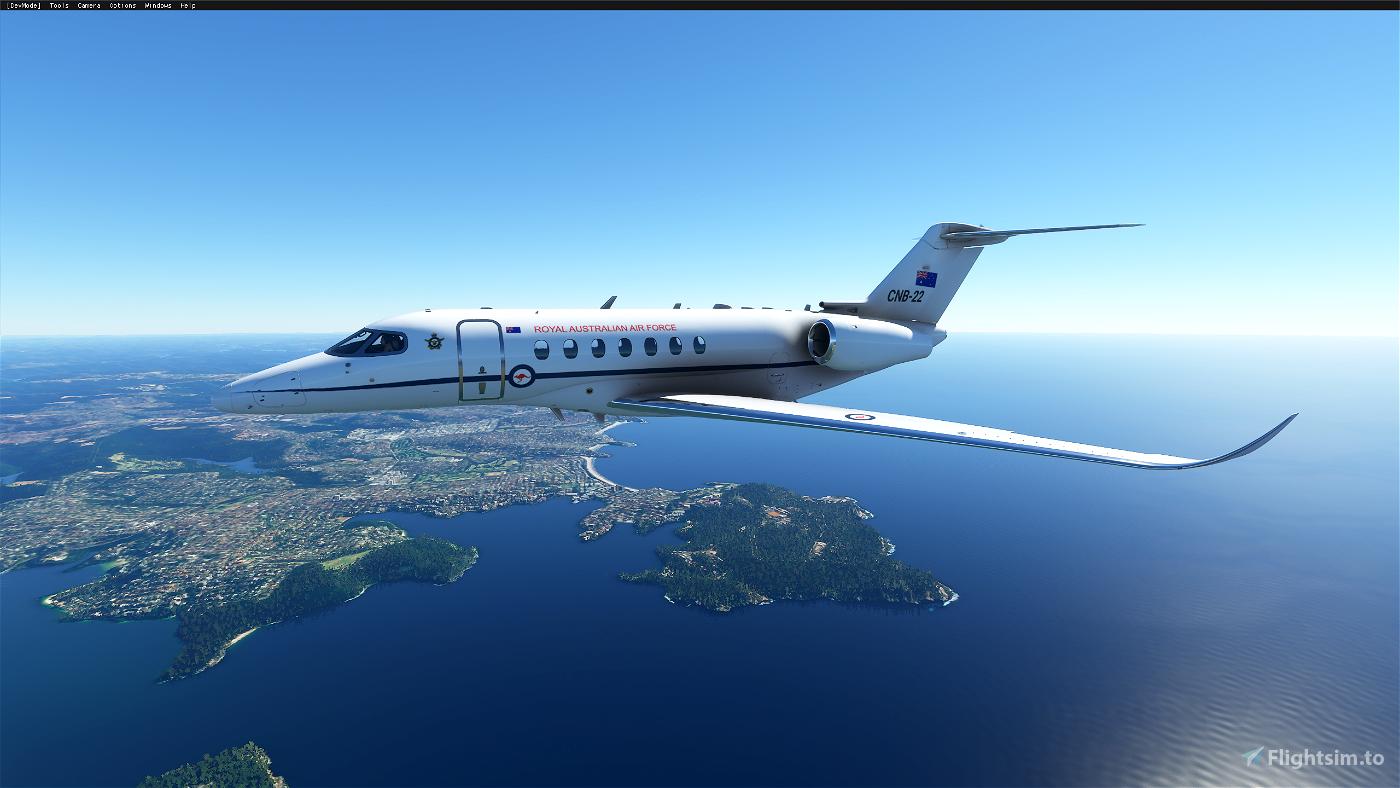 Royal Australian Air Force Longitude - RAAF Flight Simulator 2020