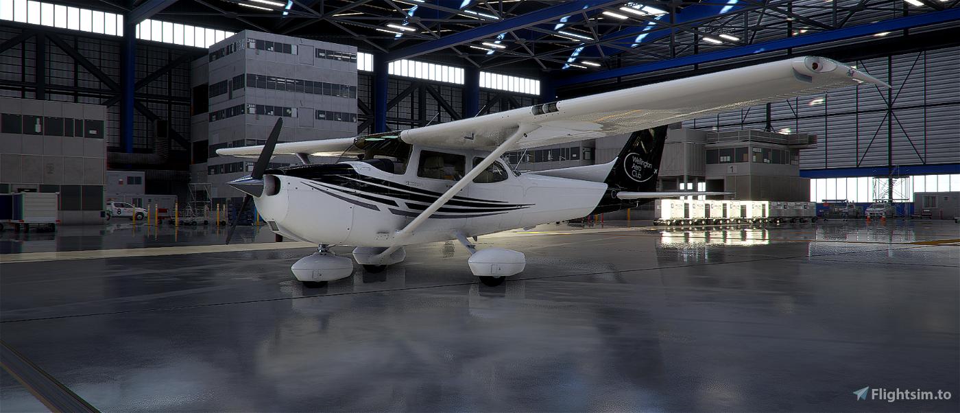 New Zealand Wellington Aero Club C172 Skyhawk (STANDARD) Flight Simulator 2020