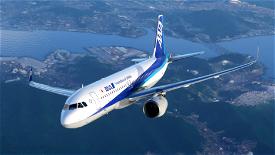 A320neo All Nippon Airways JA219A(4K patch 5) Image Flight Simulator 2020