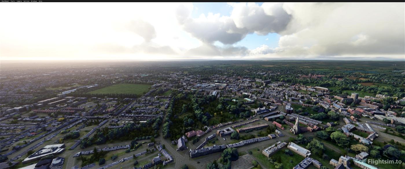 Cambridge version 2 airport fix Image Flight Simulator 2020