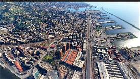 Italia - Città di Genova Microsoft Flight Simulator