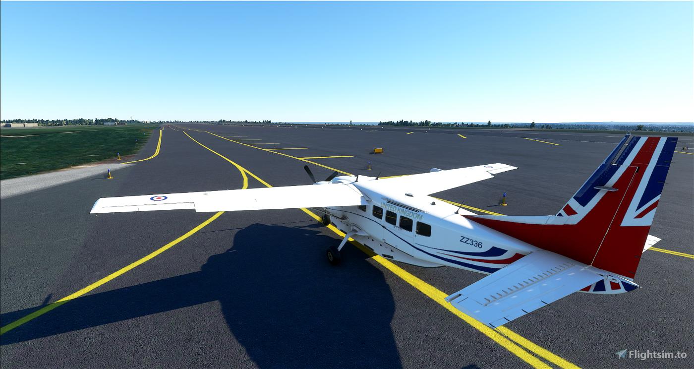 208B Cessna Caravan - Royal Air Force (RAF) Voyager Vespina