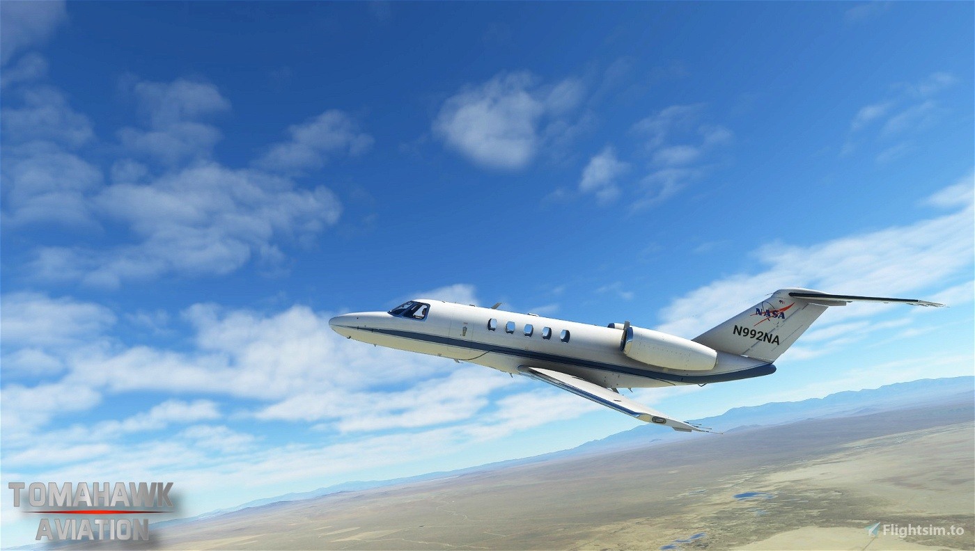 NASA Cessna Citation CJ4 [1.10.7.0] Flight Simulator 2020